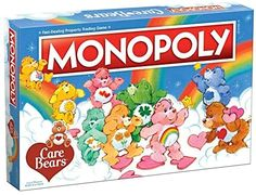 Amazon.com: USAOPOLY Monopoly: Care Bears, Blue : Toys & Games Funshine Bear, Bear Character, Monopoly Game, Fun Board Games, Old Games, Care Bears, How To Memorize Things, In This Moment, Amazon