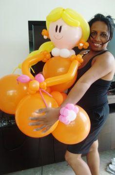 Curso de Decoração com Balões