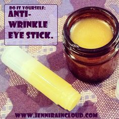 DIY Anti-Wrinkle Eye Stick - Domestic DIY