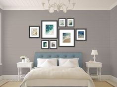 beach photography // modern nautical decor // by SeptemberWren, $150.00 love arrangement of pics