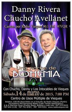 Bohemia Pro Fondos Radio Vieques #sondeaquipr #radiovieques #dannyrivera #chuchoavellanet #vieques
