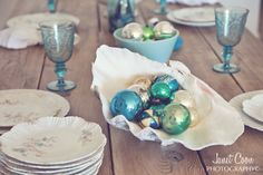 Shabbyfufu: Beach Cottage Christmas Decor...A Bit Of Shabby Chic