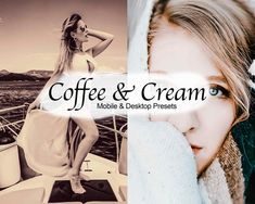 Coffee & Cream 12 Cool Presets for Lightroom | Etsy