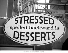 If you feel stressed, give yourself a break and eat some cake! Don't forget to contact us: www.juliedeliciouscakes.com/