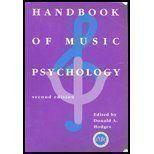 Handbook of Music Psychology: Donald A. Hodges: 9780964880306: Amazon.com: Books
