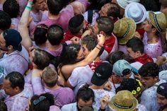 San Fermin Running of the Bulls 2015 - Day 1