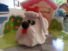 Here she is...the Maltese from our My Pet DIY range...what will you create?  Only £5.99 at shop.jumpingclay.co.uk or 4 for £20.