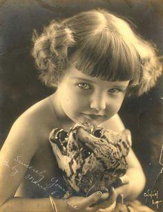 Marie Osborne 1919 first child silent movie star