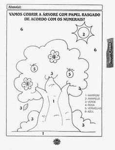 ESPAÇO EDUCAR: Muitas atividades do DIA DA ÁRVORE para a EDUCAÇÃO INFANTIL ou Maternal para imprimir