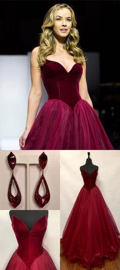 Burgundy Prom Dress Tulle Long Evening Gowns Sexy Sweetheart Prom Gowns 7004 from Dresses Near Me Tight Prom Dresses, Senior Prom Dresses, Affordable Prom Dresses, Formal Dresses For Teens, Tulle Prom Dress, Prom Dresses Online, Cheap Prom Dresses, Prom Gowns, Long Evening Gowns