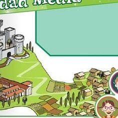 LA EDAD MEDIA (Juegos, actividades y materiales de 5º de Primaria) | Pearltrees Education, Socialism, Social Science, Middle Ages, Tights, Castles, Teachers, Onderwijs, Learning
