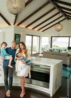 Kian Egan, Jodi Albert and Koa introducing baby Zekey - July 2015 Photoshoot in OK! Scans by Kian Egan - The next chapter (please ask them before use)