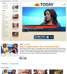 Gemini Adams talks about The #Facebook Diet on The Today Show...
