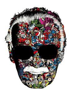 'Man Of Many Faces' Stan Lee •Chris Thornley