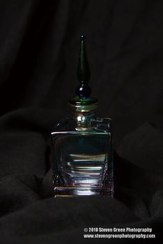 Vintage Perfume Bottles by Steven Green Photography, via Flickr
