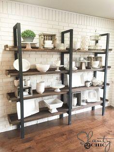 DIY Plate Rack for $95 & DIY Plate Rack for $95 | Pinterest | Plate racks Modern and Diy ...
