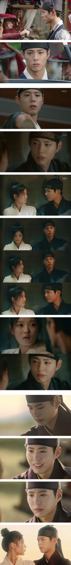 [Spoiler] Added episode 6 captures for the #kdrama 'Moonlight Drawn by Clouds'