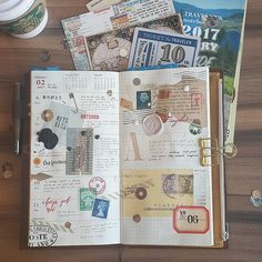 Week ~ Write until it becomes as natural as breathing. Bellet Journal, Travel Journal Pages, Diary Book, Glue Book, Love Rainbow, Finger Painting, Pen And Paper, Smash Book, Altered Books