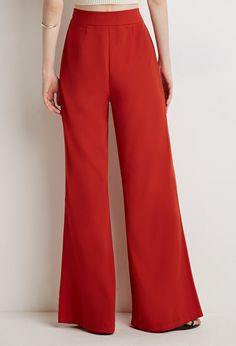 Contemporary Wide-Leg Trousers
