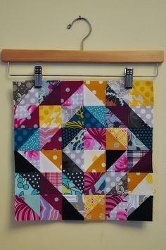 beautiful value quilt block