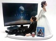 Video Gamer Xbox One/PS4 Funny Gamer by Pieceofcaketoppers4u