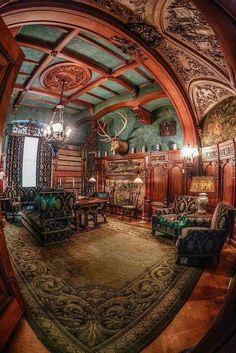 Outstanding. Sitting Room - Frederick Vanderbilt Mansion in Hyde Park, NY (built in 1896)