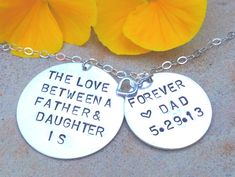 The Love Between A Father and Daughter is Forever by natashaaloha, $80.00