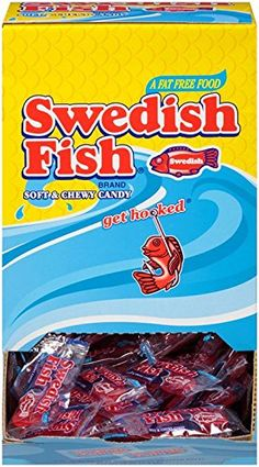 Best swedish fish soft chewy candies recipe on pinterest for Swedish fish amazon
