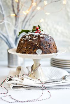 It wouldn't be Christmas without this traditional steamed pudding - packed with dried fruit, nuts, spices and with a hidden silver sixpence for good luck.