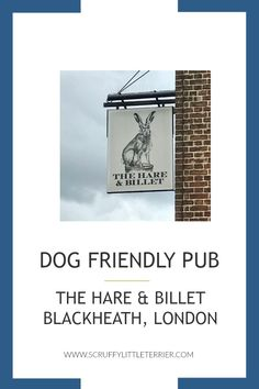 Review: Dog Friendly Pub and Sunday Roast in The Hare & Billet, Blackheath, London