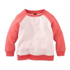 $35 Cute Uta Raglan Sweatshirt For Baby Girls | Tea Collection
