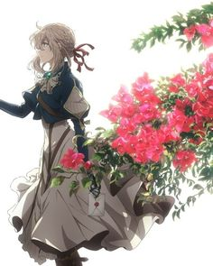 Looking for information on the anime Violet Evergarden Movie? Find out more with MyAnimeList, the world's most active online anime and manga community and database. Manga Anime, Film Manga, Anime Art, Anime Violet Evergarden, Violet Evergarden Wallpaper, Violet Evergreen, Violet Garden, The Ancient Magus Bride, Manga Illustration