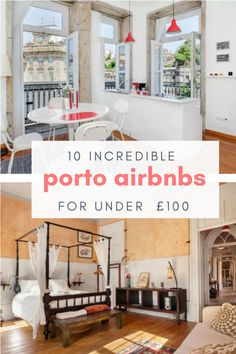 From urban lofts to rustic old-world getaways; when it comes to beautiful airbnbs, Porto has it all. We've rounded up our picks of the 10 best Porto Airbnbs you can stay in for under £100! | Porto | Porto Portugal | Porto Portugal travel | Porto airbnb | airbnb | Porto hotel | Porto photography | Porto Portugal things to do | Porto accommodation | Porto beautiful |