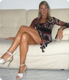 Great legs, mom, great legs...