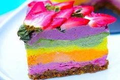 Get lost in the colorful taste of Epigenetic Rainbow Cake.