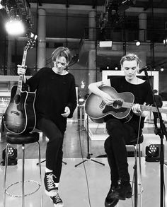 #Repost @undergroundphoto_ ・・・ @bowerjamie @bowersam @counterfeitrock live on ZDF German TV #smashedit and the acoustic tracks sounded quality !!!