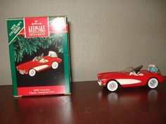 Hallmark Keepsake Ornament 1957 Corvette Clasic American Car Date 1991