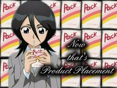 Rukia's Product Placement by Lilium-tenebrae on DeviantArt