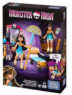 Cleo de Nile Gore-Geous Vanity Monster High Mega Bloks Playset, 2015
