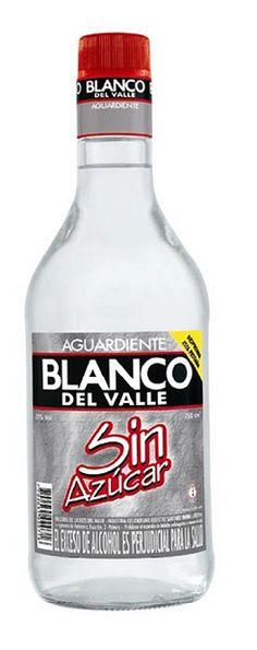 Aguardiente BLANCO - Colombian drink