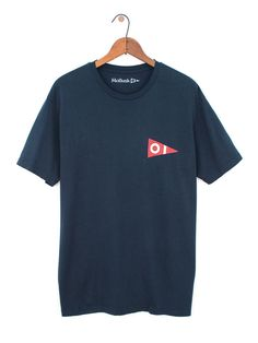 New Pennant Tee - New Navy