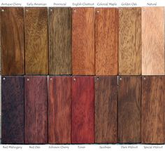 mahogany door stains | Brazilian Mahogany Exterior Doors Stain Samples