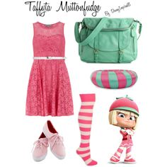 """Taffyta Muttonfudge Outfit"" by disneyinspired8 on Polyvore"