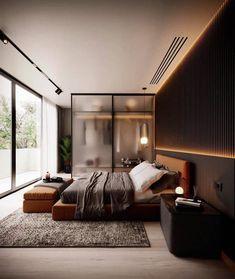 Modern Luxury Bedroom, Luxury Bedroom Design, Master Bedroom Interior, Bedroom Closet Design, Home Room Design, Luxurious Bedrooms, Home Decor Bedroom, Home Interior Design, Tiny Bedrooms