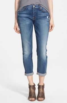 7+For+All+Mankind®+'Josefina'+Mid+Rise+Boyfriend+Jeans+(Absolute+Heritage)+available+at+#Nordstrom