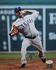 Cliff Lee Texas Rangers Autographs