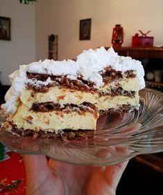 Torte Recepti, Kolaci I Torte, Baking Recipes, Cake Recipes, Dessert Recipes, Sweet Cakes, Tray Bakes, No Bake Cake, Chocolate Cake