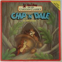 Cartoon Classics Chip'n'Dale Laserdisc