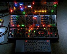 Buchla synth array