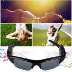 Amazon.com : Excelvan Polarized Sunglasses Mini Hidden Camera MP3 Player Digital Video Recorder DV Eyewear Camcorder : Camera & Photo